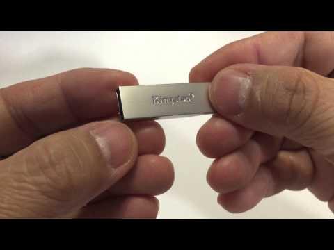 Kingston Digital DataTraveler SE9 G2 USB 3.0 Flash Drive (DTSE9G2) - Benchmark / Unboxing