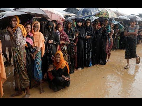Rohingya flee from rape, fire and murder in Myanmar