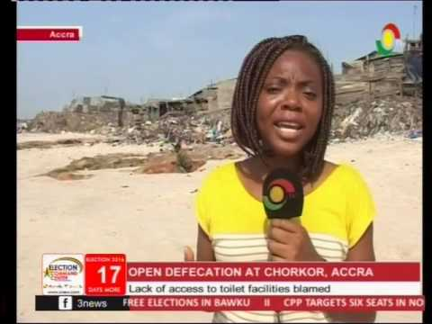 Ghana loses 79M dollars a year due to open defecation - 19/11/2016