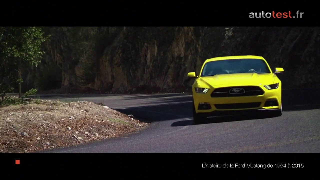 Ford mustang 50 ans dhistoire