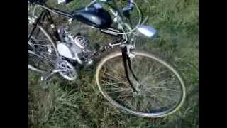 motorized bike 80cc review running mods