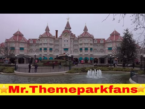 Big Thunder Mountain and last time Pirates of The Caribbean Frozen Disneyland Paris Update 7-01-2017