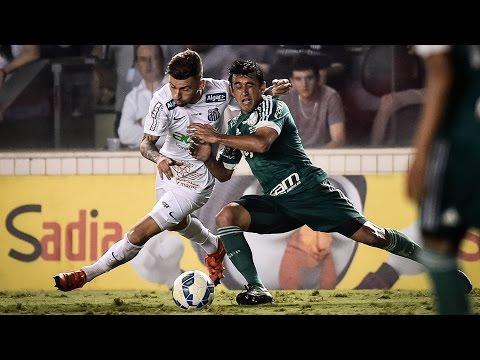Santos 1 x 0 Palmeiras | MELHORES MOMENTOS | Copa do Brasil (25/11/15)