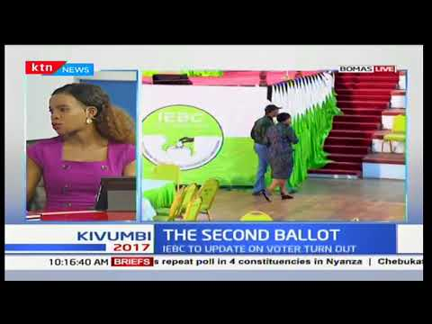 Mixed reactions on low voter turnout as IEBC yet to issue an official update