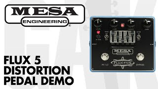 Mesa Boogie - Flux-5 Distortion Pedal with Graphic EQ Demo at GAK