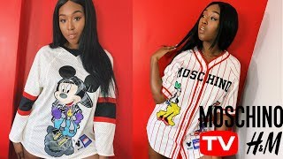 H&M X MOSCHINO TRY ON HAUL/REVIEW