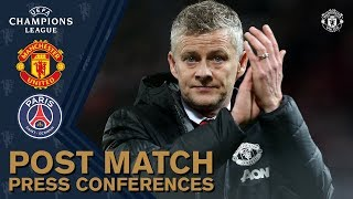 Post Match Press Conference | Manchester United 0-2 PSG | UEFA Champions League