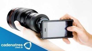 Cómo poner lentes profesionales para tomar las mejores fotografías con tu celular