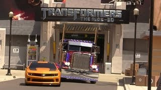 Grand Opening of Transformers The Ride 3D at Universal Studios Hollywood