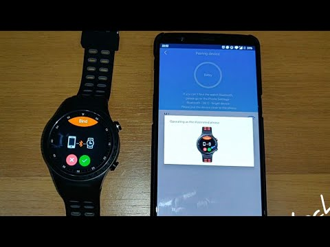 How to connect LEMFO M1 with Smart-Time apps android smartphone Smart Watch SIM & Bluetooth Phone