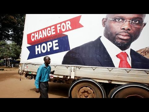 Ex footballer George Weah wins Liberia presidential run-off – preliminary results