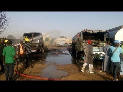 Nigeria: Suicide bomb attack destroys 3 fuel trucks in Borno, casualties reported