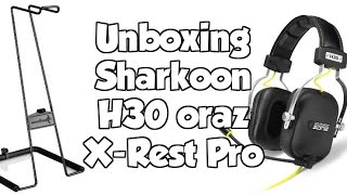 unboxing Shark Zone H30  Sharkoon X-Rest Pro