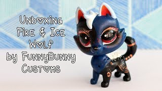 Unboxing Fire & Ice Wolf by Funnybunny Customs!