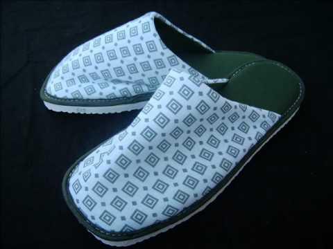 368c86d1dcc2f7 Chinelos de Quarto, Chinelos Personalizados e Pantufas Artesanais - Cloth  Slippers