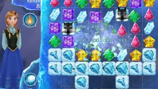 Frozen Free Fall Level 107 Live Action Play Walkthrough