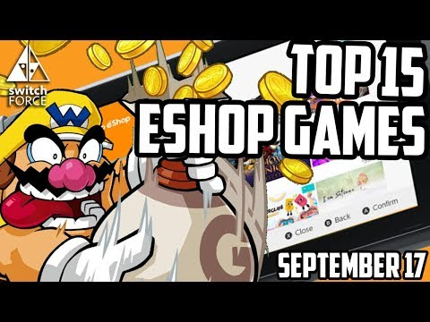 Nintendo Switch TOP 15 ESHOP GAMES SELLERS LIST!