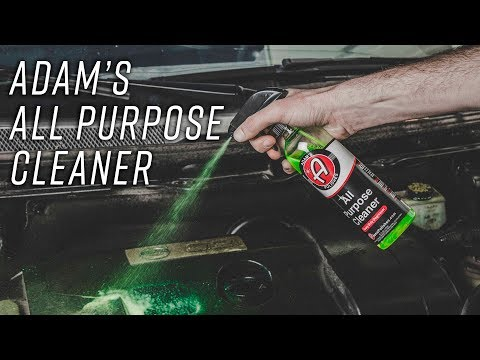 Clean Engine Bays, Exaust Tips, and Polishing Pads Easily | Adam's All Purpose Cleaner