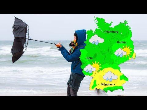 Wetter: Orkan SABINE Erreicht Seinen Höhepunkt (09.02.2020)