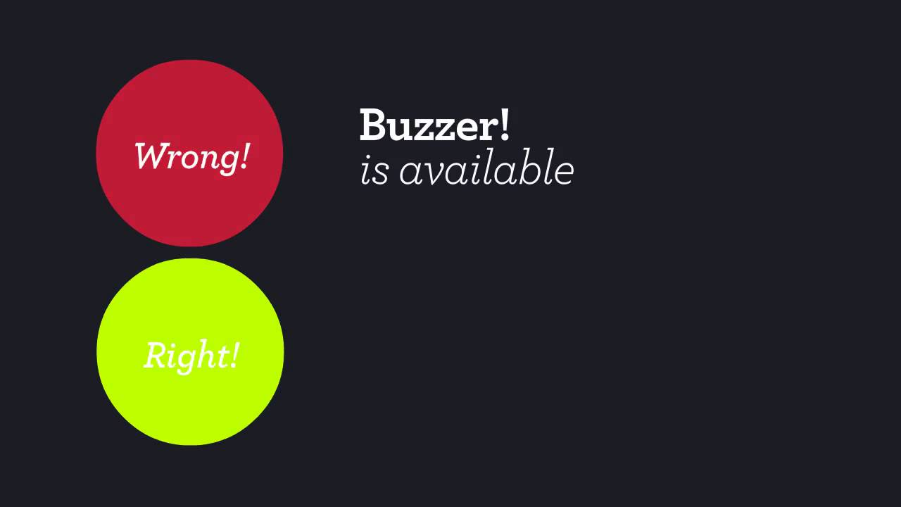 Buzzer! the Quiz Game Show buzzer for Android