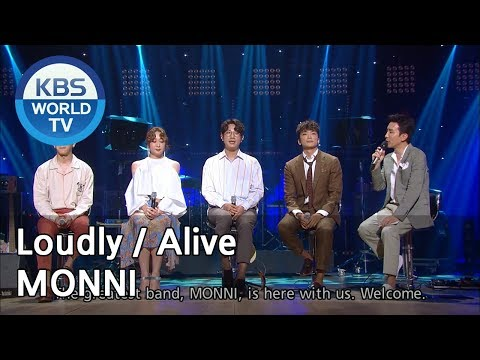 Yu Huiyeol's Sketchbook - MONNI : Loudly / Alive