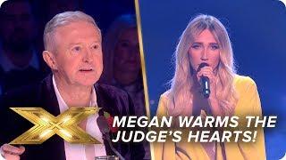Megan McKenna warms the Judges hearts!   Live Week 3   X Factor: Celebrity