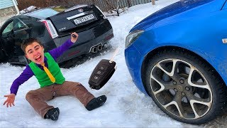 Mr. Joe on Broken Cadillac CTS V found Opel Insignia OPC & Started Funny Race for Kids