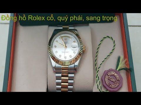 Đồng Hồ RoLex Cổ, Sang Trọng, Quý Phái -Đồng Hồ Thụy Sĩ -Đồng Hồ Rolex Nam || 0985418496