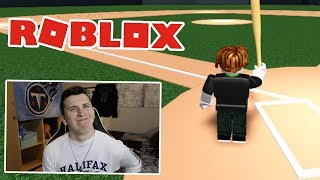 Playing ROBLOX MLB The Show 19!