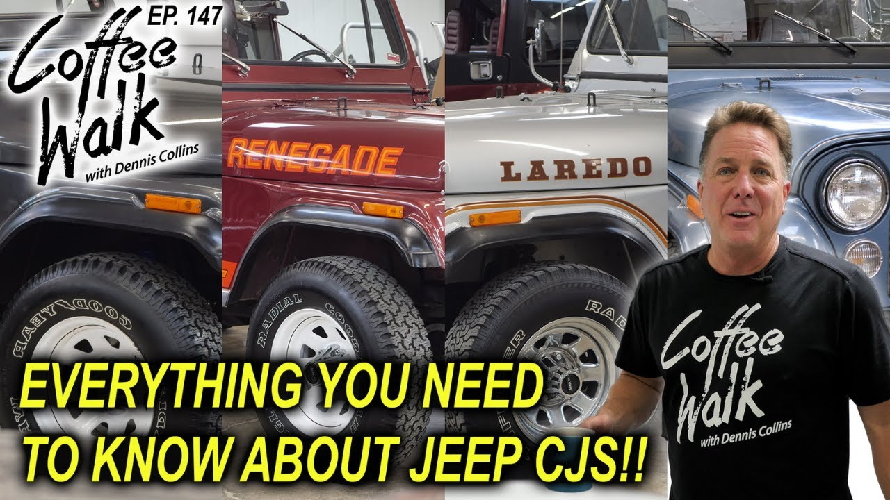 EVERYTHING you NEED to know about JEEP CJ's!