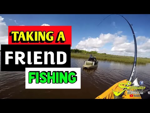 Kayak Fishing in Port Lavaca Texas at 6 Miles using Down South and Topwater lures ,got a TEXAS SLAM