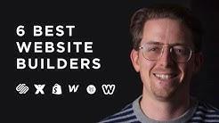 The 6 Best Website Builders! [2020]