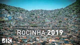 【4K】Drone Footage | ROCINHA ..:: Brazils largest Favela Rio de Janeiro 2019
