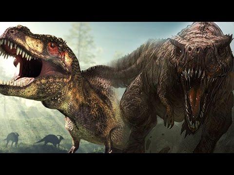 JURASSIC WORLD 2: T-REX vs GIGANOTOSAURUS