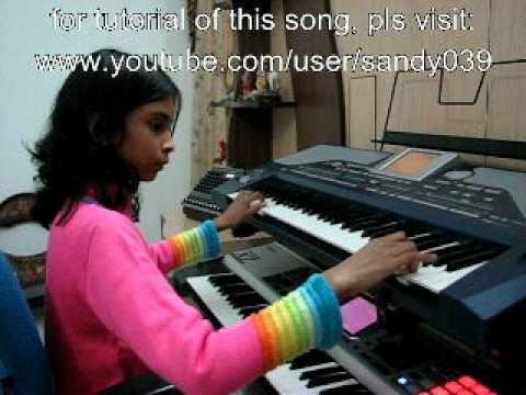 Hai Guzarish Full song of Ghajini played on SAXOPHONE by Smarnika on Korg Pa800 - Instrumental