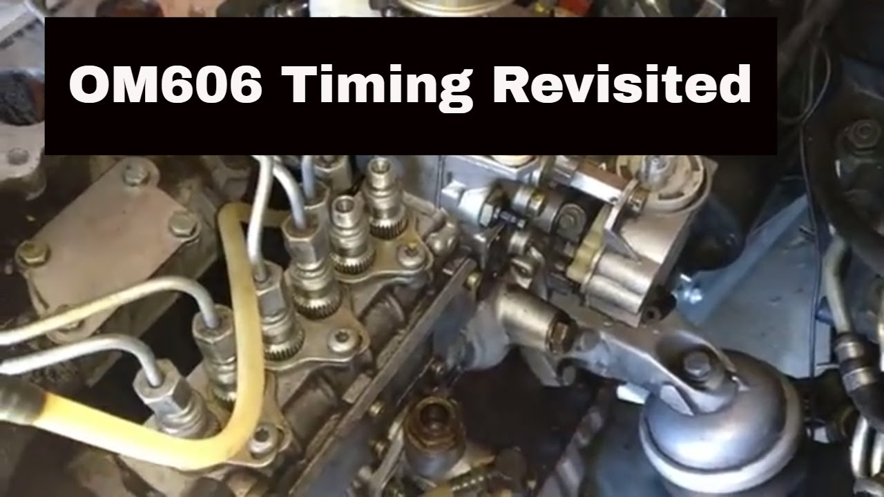 OM606 Swap 18: Another look at pump timing