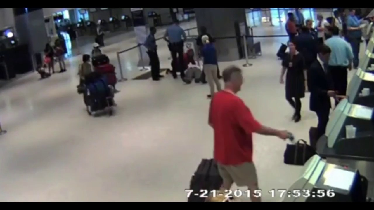 A United Airlines Employee Attacks an Elderly Man in a Shocking New Video
