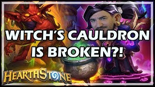 WITCH'S CAULDRON IS BROKEN?! - Boomsday / Hearthstone