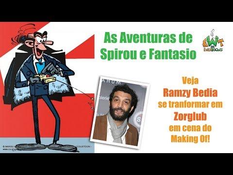 As Aventuras de Spirou e Fantasio chegam aos cinemas em 2018!