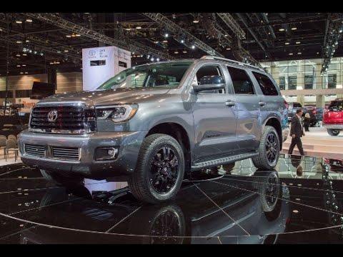 2018 Toyota Sequoia Redesign Interior Release Date Diesel Youtube