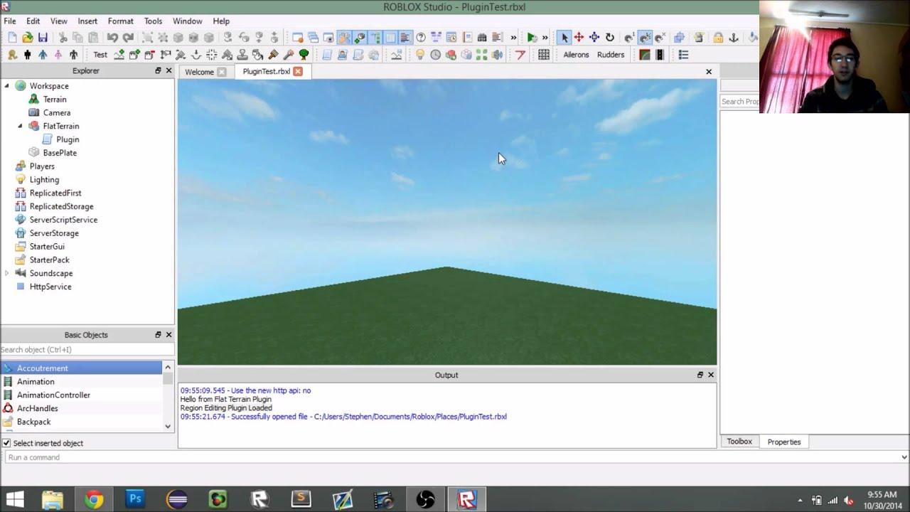 Roblox Tutorial Creating A Plugin Part 1 Youtube