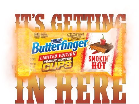 Butterfinger 'Smokin Hot' Cups! Review