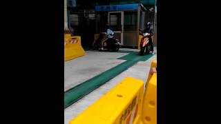 Taiwan motorcycle driver's license road test