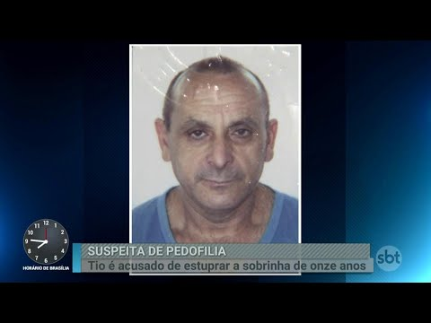 Polícia prende homem acusado de abusar da própria sobrinha | Primeiro Impacto (24/04/18)