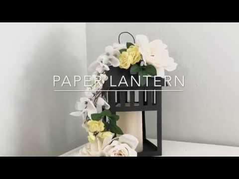 DIY PAPER LANTERN| Wedding Centerpieces
