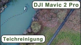 DJI Mavic 2 Pro   Hannover Mühlenberg   Teichreinigung