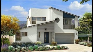 The Sims 4 | Mid-Century Modern House   | Speed Build +CC List!🏡