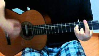 Someday - The Strokes (acoustic guitar) how to play