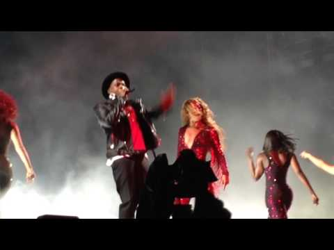 """Beyoncé & Jay-Z ~ """"Ring The Alarm/On To The Next One"""" live at Gillette Stadium 7/1/14"""
