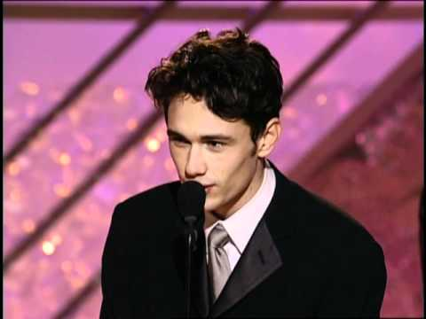 James Franco Wins Best Actor TV Movie - Golden Globes 2002